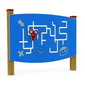 לוח משחק פעיל דגם מבוכים, פיברן מומחים בפיתוח מתקנים לגני שעשועים