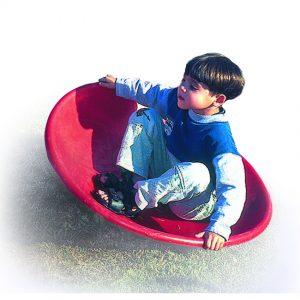 צלחת וסטיבולרית לחצר לגני ילדים ,פיברן מומחים לייצור מתקנים לגני שעשועים