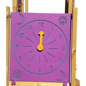 לוח משחק פעיל דגם שעון , פיברן מומחים בפיתוח מתקנים לגני שעשועים