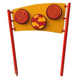 לוח משחק מאתגר לגני ילדים ,פיברן מומחים בפיתוח מתקנים לגני שעשועים