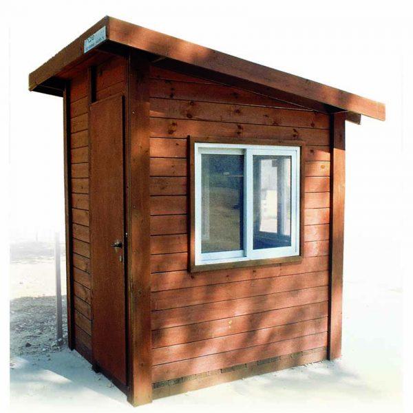 ריהוט רחוב, ביתן שמירה מעץ מבית פיברן המומחים בייצור והתקנת ריהוט רחוב