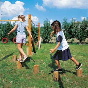 מתקן ספורט ונופש פעיל בולי עץ ,פיברן מומחים בפיתוח מתקני ספורט ונופש