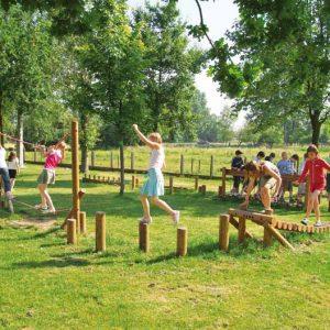 פארק נופש פעיל מעץ,דגם SP-A050 פיברן מומחים בפיתוח מתקני ספורט ונופש