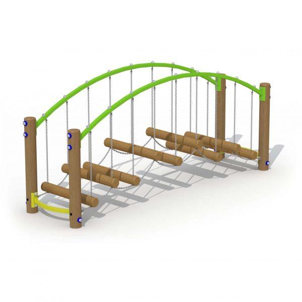 מתקן ספורט ונופש פעיל גשר קשתי פיברן מומחים בפיתוח מתקני ספורט ונופש