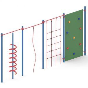 מתקן כושר לפארקים דגם מערכת ספורט פיברן מומחים בפיתוח מתקנים לפארקים