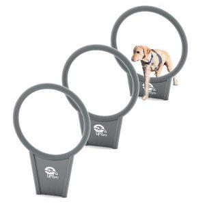 מתקן חישוקים לאימון כלבים, פיברן מומחים בפיתוח ויצור מתקנים לגינות כלבים