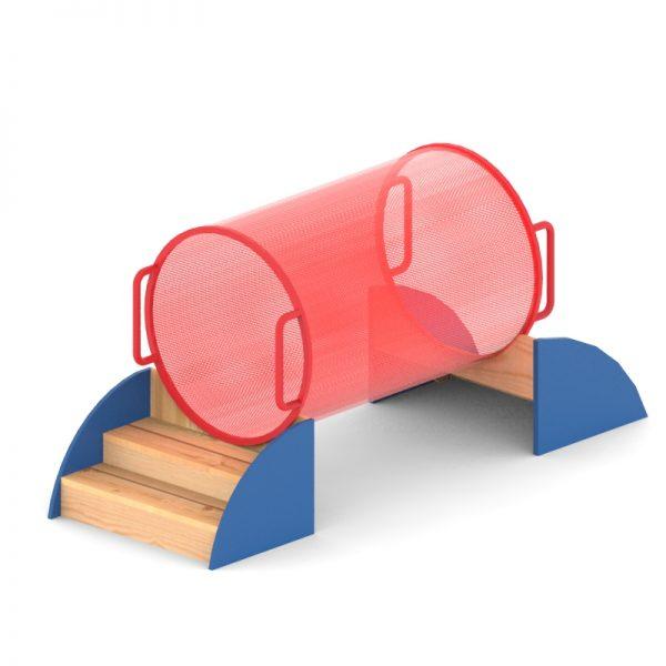 מתקן זחילה דגם יותם, פיברן מומחים בתכנון ייצור מתקנים לגני ילדים