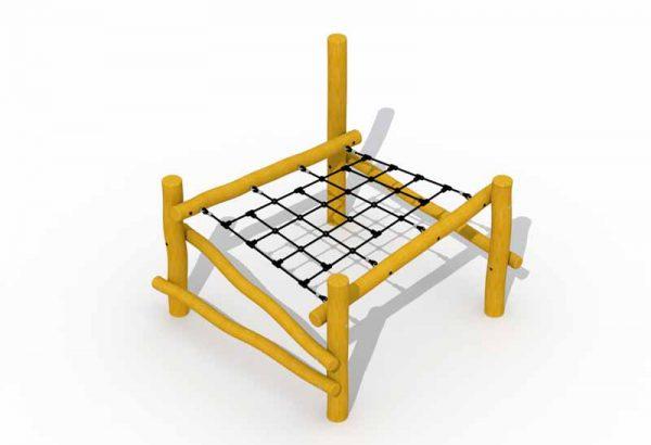 מתקן שעשועים מעץ רוביניה דגם חסידות מקננות RO280,פיברן מתקני משחק