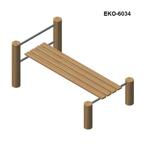 מתקן כושר וספורט כפיפות בטן מעץ רוביניה, פיברן מומחים למתקני משחק