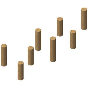 עמודי דריכה ושיווי משקל ולקישור אלמנטים מעץ ,פיברן מומחים למתקני שעשועים